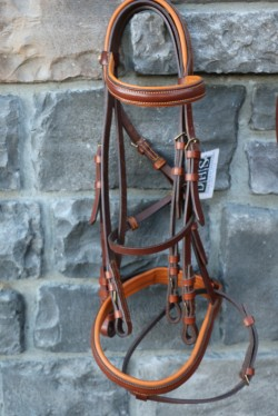 21019205 Zaldi Deluxe Competition Double Bridle