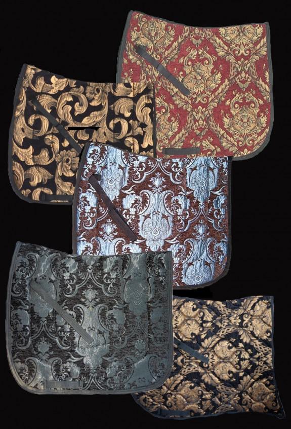 Baroque stye saddle pad 100/% Cotton