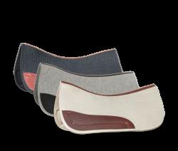 Wool pads for Quantum, Bueckeburger, Amarant
